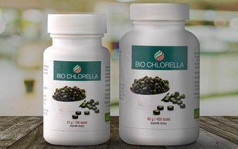 Tablety Bio Chlorella pro zdraví vašeho těla