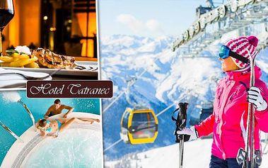 Do Tater za relaxací i lyžováním. Až 6denní pobyt!