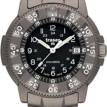 Traser P 6506 Commander 100 Force titan + pojištění hodinek, doprava ZDARMA, záruka 3 roky