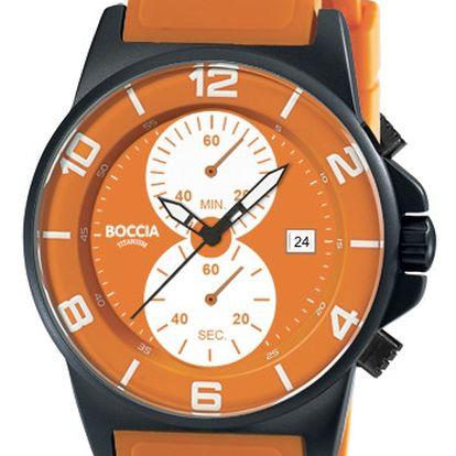 Boccia Titanium 3777-204 + pojištění hodinek, doprava ZDARMA, záruka 3 roky