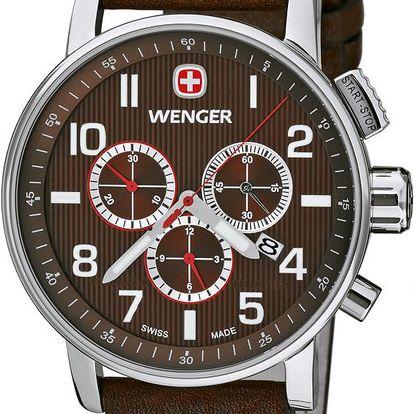 Wenger Commando Chrono 01.1243.102 + pojištění hodinek, doprava ZDARMA, záruka 3 roky