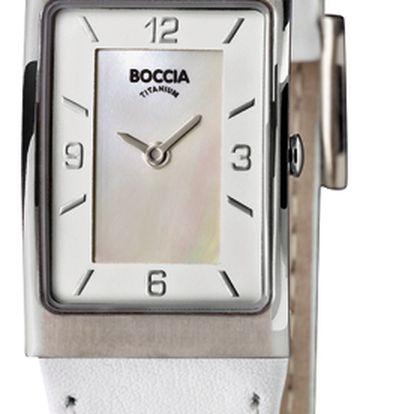 Boccia Titanium 3186-01 + pojištění hodinek, doprava ZDARMA, záruka 3 roky