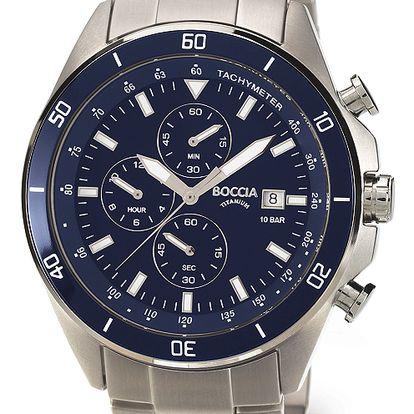 Boccia Titanium 3762-02 + pojištění hodinek, doprava ZDARMA, záruka 3 roky