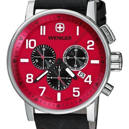 Wenger Commando Chrono 01.1243.103 + pojištění hodinek, doprava ZDARMA, záruka 3 roky