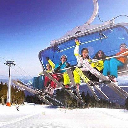Březnová lyžovačka v Janských Lázních