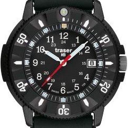 Traser P 6508 Code Blue silikon + pojištění hodinek, doprava ZDARMA, záruka 3 roky