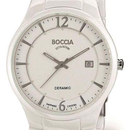 Boccia Titanium 3572-01 + pojištění hodinek, doprava ZDARMA, záruka 3 roky