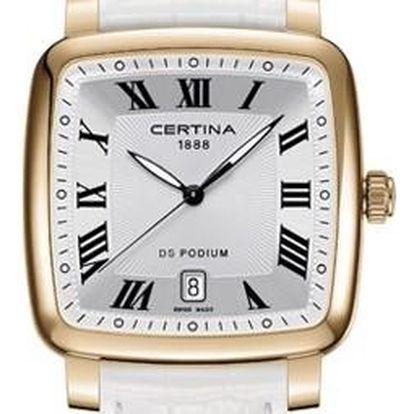 Certina C025.510.36.033.00 + pojištění hodinek, doprava ZDARMA, záruka 3 roky