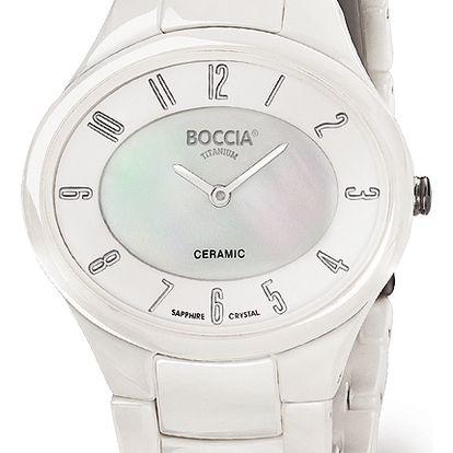 Boccia Titanium 3216-01 + pojištění hodinek, doprava ZDARMA, záruka 3 roky