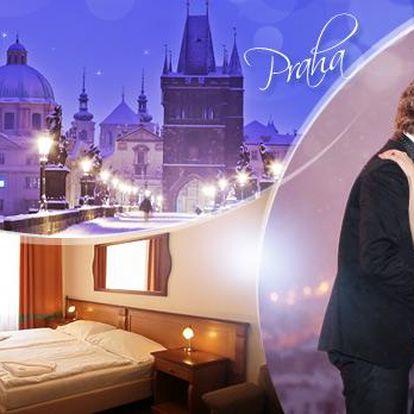 Praha! Romantický pobyt pro 2 osoby na 3-6 dní včetně snídaní v Penzionu Březina*** poblíž Václavského náměstí!