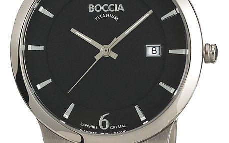 Boccia Titanium 3565-02 + pojištění hodinek, doprava ZDARMA, záruka 3 roky