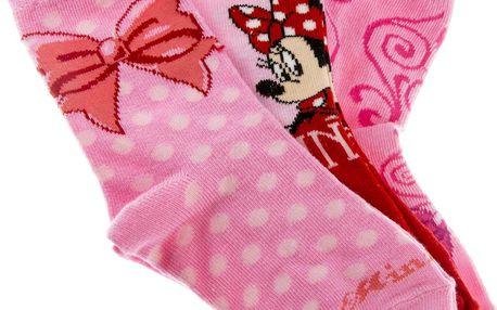 Dětské ponožky Minnie Mouse 3 ks