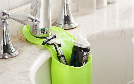 Plastová kapsa na houbičku či mýdlo - zelená