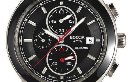 Boccia Titanium 3764-01 + pojištění hodinek, doprava ZDARMA, záruka 3 roky