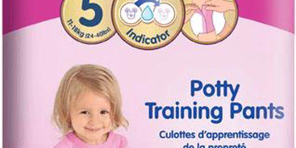 HUGGIES PULL-UPS vel.5 (11-18kg) dívčí tréninkové kalhotky