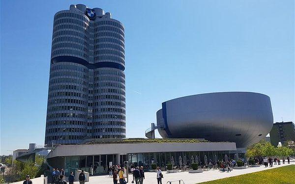 """Mnichov – BMW Welt a BMW muzeum (vstupné v ceně) - celodenní výlet v seriálu """"levnější to nebude""""!"""