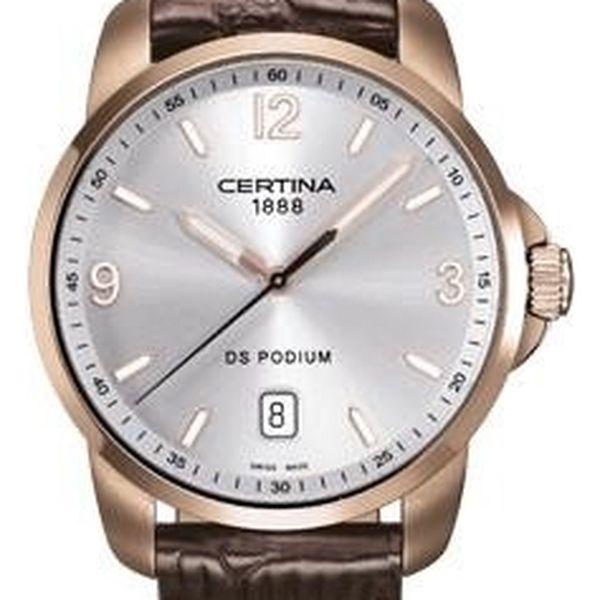 Certina C001.410.36.037.01 + pojištění hodinek, doprava ZDARMA, záruka 3 roky