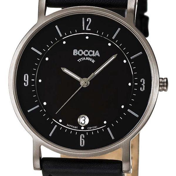 Boccia Titanium 3533-01 + pojištění hodinek, doprava ZDARMA, záruka 3 roky
