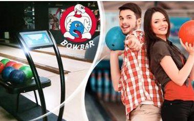 Praha - hodinový bowling v BowBaru až pro 6 hráčů jen za 14 Kč na osobu!
