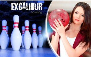2 hodiny bowlingu až pro 10 osob již od 17 Kč/osoba s možností volby využití voucheru.