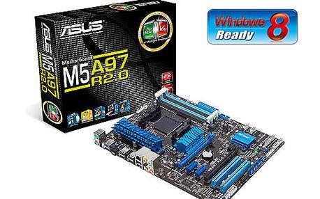 ASUS M5A97 R2.0 soc.AM3 970 DDR3 ATX 2xPCIe RAID USB3 GL