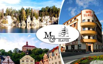 Adršpach - dovolená s polopenzí pro dva v Hotelu MG Slavie