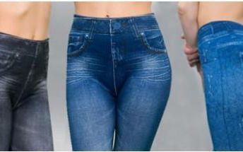 3 kusy jeansových legín v jednom balení. Elastické a skvěle padnoucí legíny, které vyzdvihnou vaše křivky.