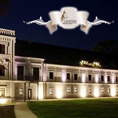 Luxusní romantika v Château Appony****