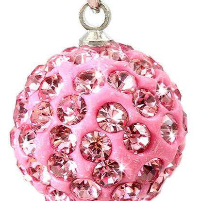 Fashion Icon Přívěsek kulička velká s krystaly