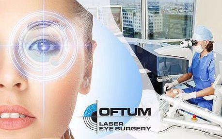 Operace očí s doživotní zárukou na specializované laserové klinice OFTUM