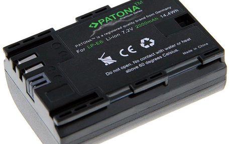 PATONA baterie pro foto Canon LP-E6 2000mAh Li-Ion Premium