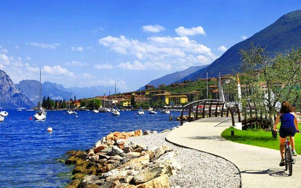 Zážitková letní dovolená u jezera Lago di Garda
