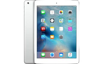 Dotykový tablet Apple iPad Air Wi-Fi 16 GB (MD788FD/B) stříbrný/bílý