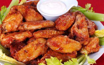 10 ks kuřecích křidélek s hranolky v Restauraci Na Jižní