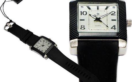 Černé unisex hodinky