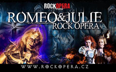 Vstupenka na Romea & Julii v RockOpeře Praha