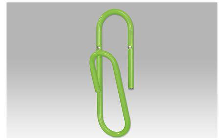 Nástěnný věšák, zelená, 83972-30 LIM