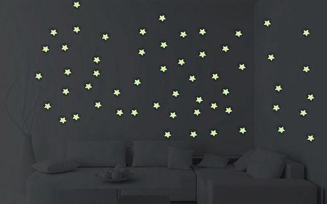 Ve tmě svítící samolepky Dark Stars