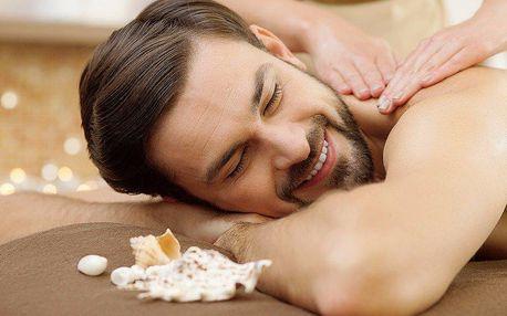 120minutová masáž horkými mořskými mušlemi