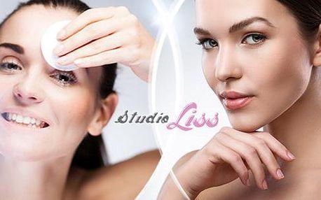 Kosmetické ošetření pleti v délce 45 až 60 minut s možností aplikace kyseliny hyaluronové ve studiu Liss v Liberci!