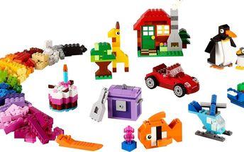 Kreativní box kostek Lego Classic 10695