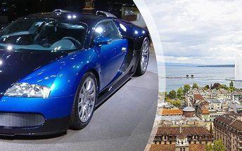 Autosalón Ženeva 2016 - včetně vstupenky a prohlídky města. Krásný dárek pro muže!