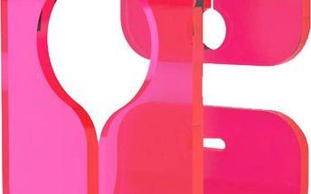 Neon Living Věšák B-Hooked pro ručník či utěrku, růžový
