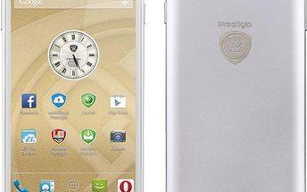 Mobilní telefon Prestigio MultiPhone PSP5505,DualSim, bílý