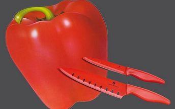 Krájecí prkénko s nožem paprika Zassenhaus