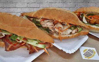2 lahodné vietnamské plněné bagety