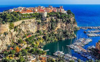 Poznávací zájezd do Monaka, Monte Carla a Nice