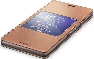Pouzdro na mobilní telefon Sony SCR24, zlaté