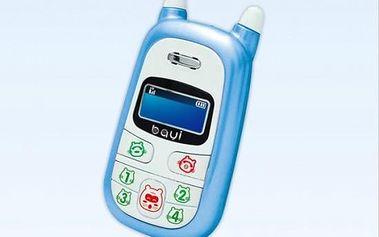 Dětský GSM telefon Baby Phone, modrý