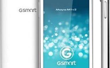 Mobilní telefon Gigabyte GSmart Maya M1v2, bílý